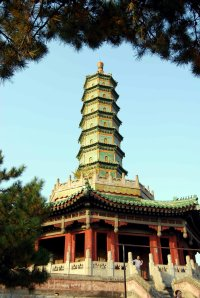 Pagoda at Ximi FuShou Temple, Chengde