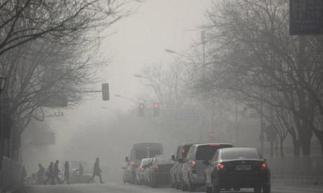 air pollution BJ Jan 2013