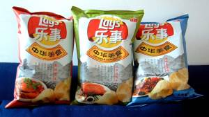 Lays crisps in China