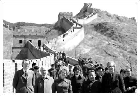 Maggie on the Great Wall