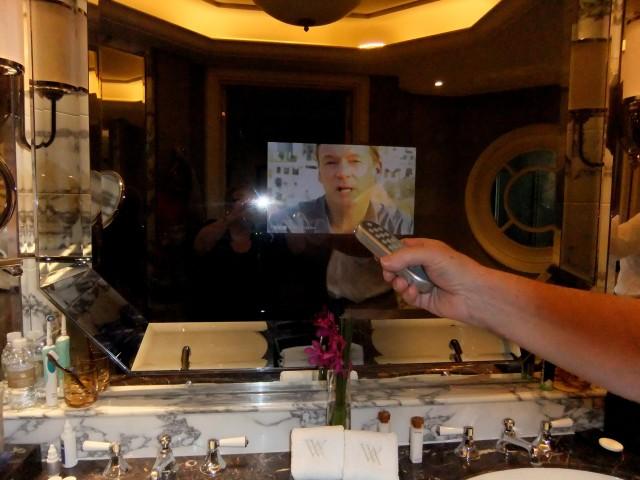 TV in mirror 1