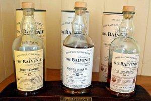 Balvenie whiskies