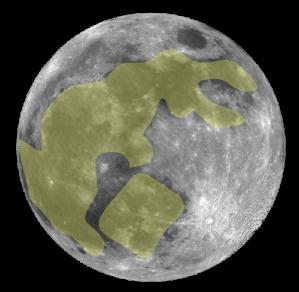 Jade Rabbit on the moon
