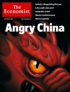 Dragon - Angry China