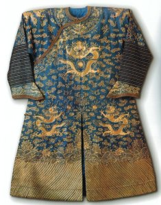 Dragon robe  Imperial court 1890s