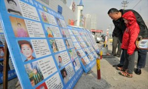 Kidnapped chinese kids posters