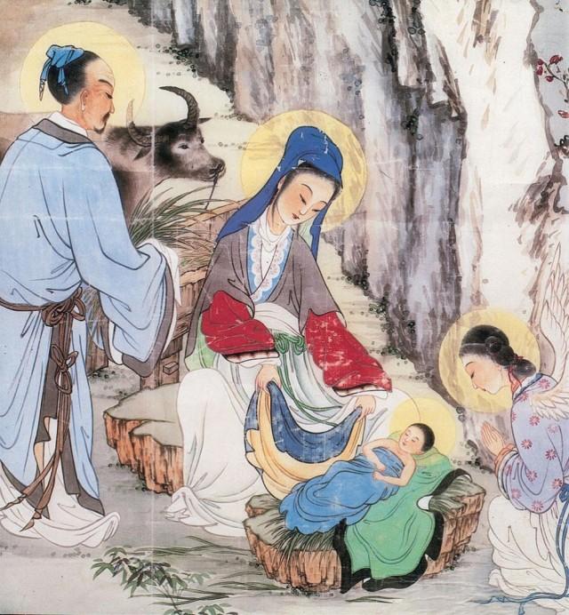 chinese-nativity-scene