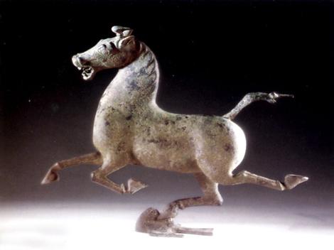 Bronze horse 1