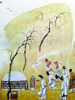 Qingming - paying respects to ancestors