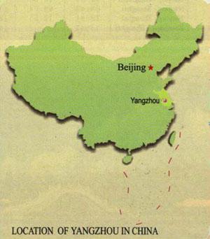 yangzhou-location-map