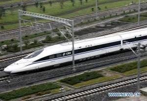 China hi-speed train