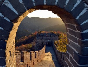Sunrise on the Great Wall