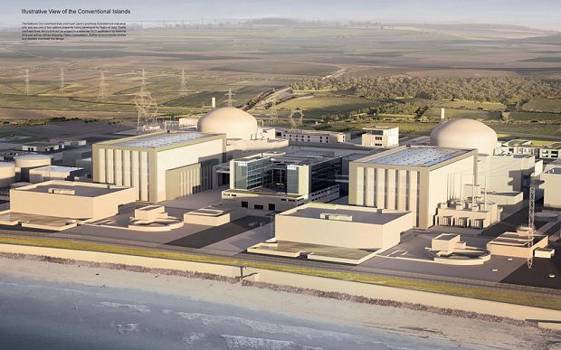 Proposed nuclear power plant